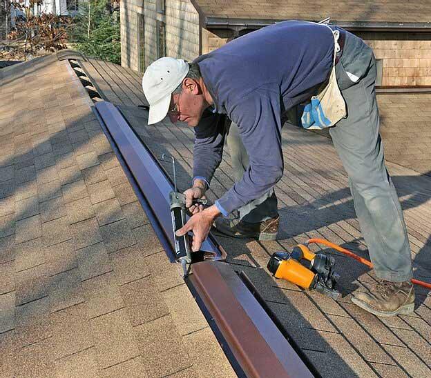 Improper Ridge Vent Installation